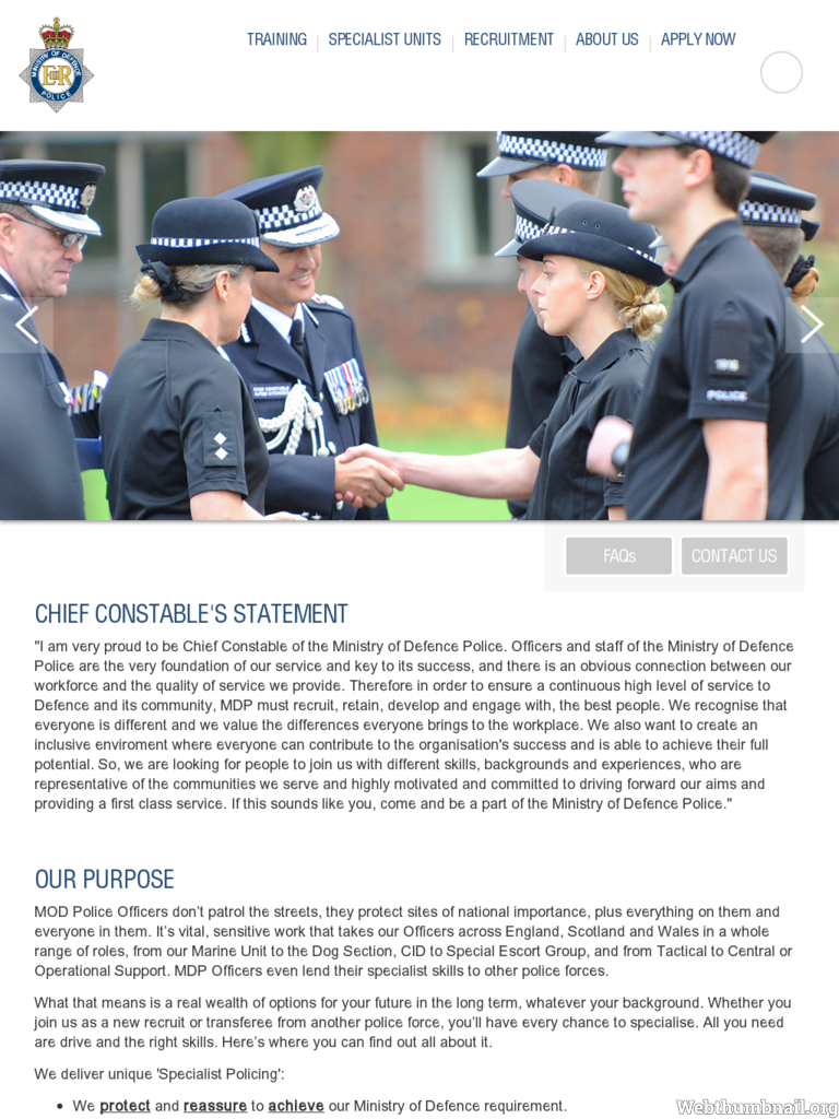 Mod Police Recruitment >> Ministry Of Defence Police Police Forces Police Community