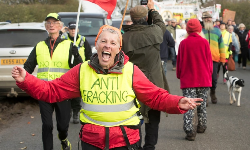Overtime and mutual aid bill soars as fracking protesters dig their heels in