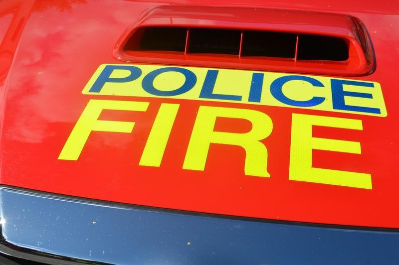 Firefighters trained as specials in 'worrying' national first