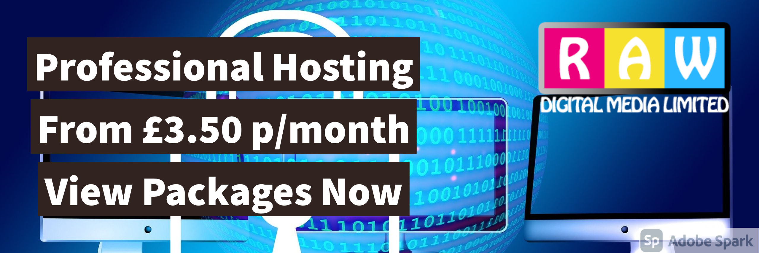 Professional Web Hosting From £3.50 p/month